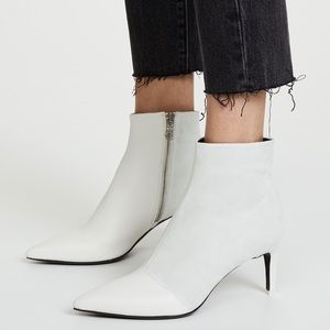 rag & bone Beha Leather Suede Panel Ankle Boots